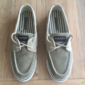 Sperry Top-Sider Canvas Boat Shoes, 8.5